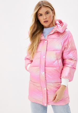 Куртка утепленная Allegri. Цвет: розовый