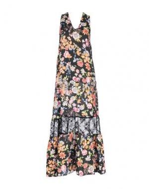 Длинное платье KARTIKA. Цвет: черный