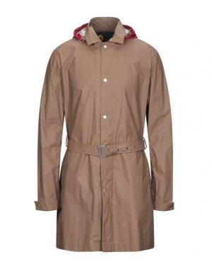 Легкое пальто CIESSE PIUMINI. Цвет: светло-коричневый