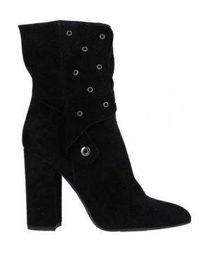 Полусапоги и высокие ботинки RELISH. Цвет: черный