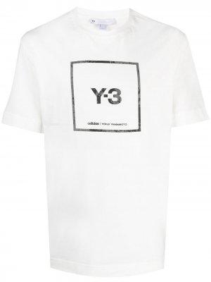Футболка с логотипом Y-3. Цвет: белый