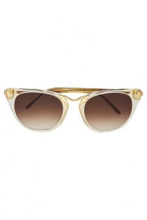 Солнцезащитные очки Hinky Thierry Lasry. Цвет: желтый