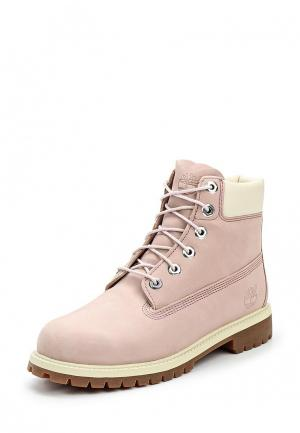 Ботинки Timberland 6 PREMIUM WATERPROOF BOOT. Цвет: розовый