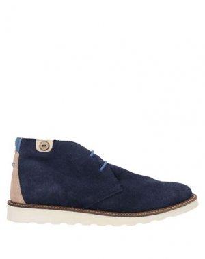 Полусапоги и высокие ботинки FAGUO. Цвет: темно-синий