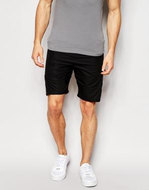 Структурированные шорты Junk De Luxe. Цвет: черный