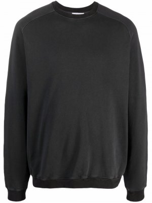 Rib-trimmed cotton sweatshirt Boglioli. Цвет: серый