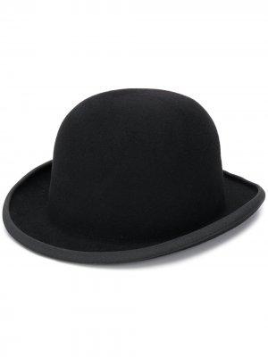 Шляпа-котелок AMI. Цвет: черный