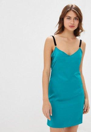 Платье Elle Land. Цвет: бирюзовый