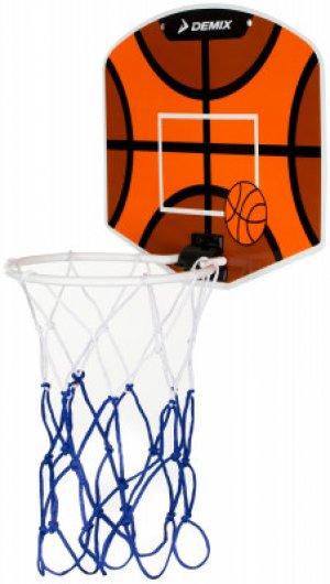Набор для баскетбола : мяч и щит Demix. Цвет: оранжевый