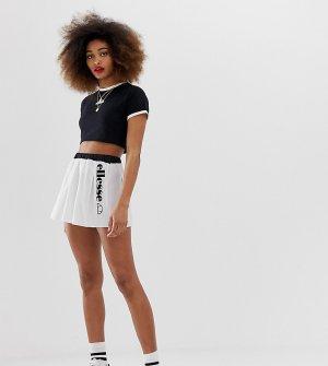 Теннисная мини-юбка с логотипом Ellesse-Белый ellesse