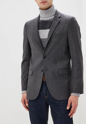 Пиджак United Colors of Benetton. Цвет: серый