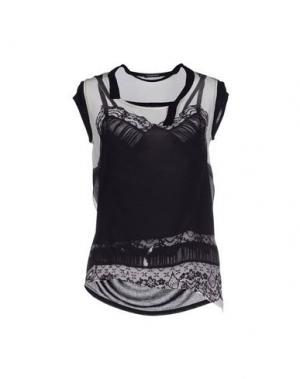 Блузка INSIDEOUT. Цвет: черный