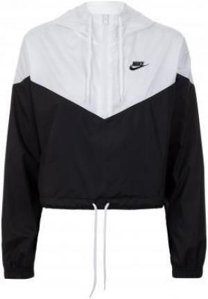 Ветровка женская Sportswear, размер 42-44 Nike. Цвет: черный