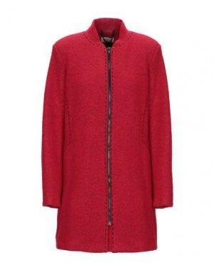 Пальто CLUB VOLTAIRE. Цвет: красный