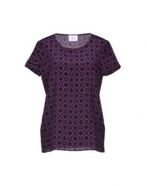 Блузка VIOLET ATOS LOMBARDINI. Цвет: фиолетовый