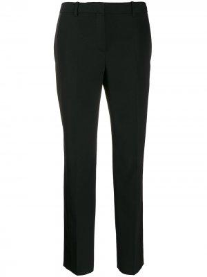 Костюмные брюки с атласными вставками Givenchy. Цвет: черный