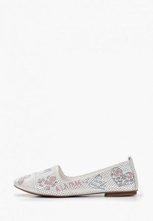 Балетки Clovis. Цвет: белый