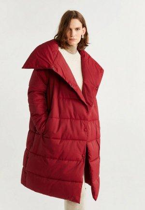 Куртка утепленная Mango - PETER-S. Цвет: красный