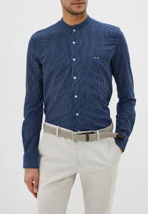 Рубашка Adolfo Dominguez. Цвет: синий