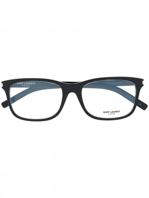Очки SL 288 Slim Saint Laurent Eyewear. Цвет: черный