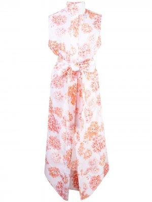 Платье без рукавов с цветочным принтом Arias