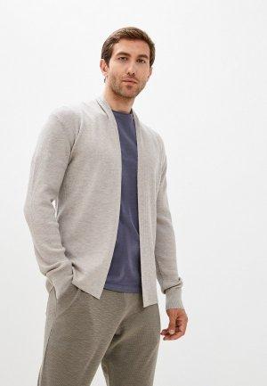 Кардиган AllSaints. Цвет: серый