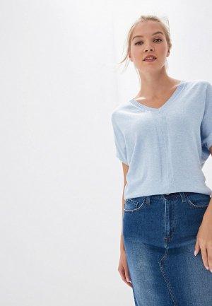 Пуловер Vilatte. Цвет: голубой
