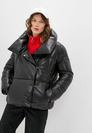 Куртка утепленная Concept Club. Цвет: черный