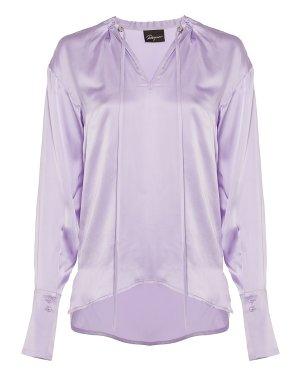 Блуза RICY885/8 44 сиреневый ROQUE ILARIA NISTRI. Цвет: сиреневый