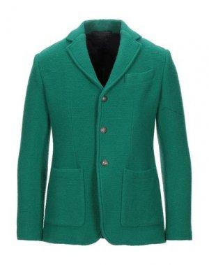 Пиджак BALLANTYNE. Цвет: изумрудно-зеленый