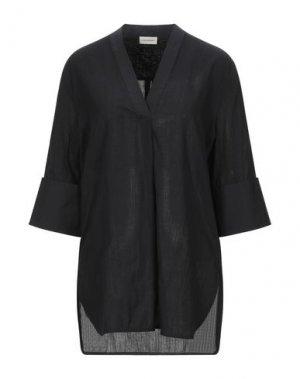 Блузка BY MALENE BIRGER. Цвет: черный