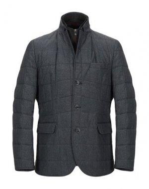 Куртка FLORENTINO. Цвет: свинцово-серый
