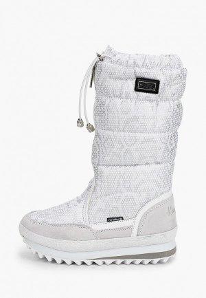 Дутики King Boots. Цвет: серый