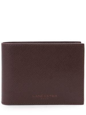Кошелек кожаный LANCASTER. Цвет: коричневый