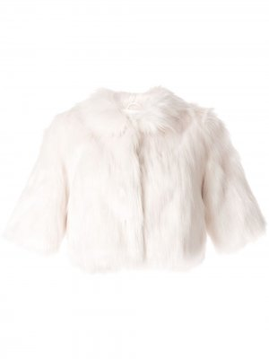 Шаль из искусственного меха Unreal Fur. Цвет: белый