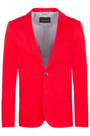 Пиджак Frankie Morello. Цвет: красный