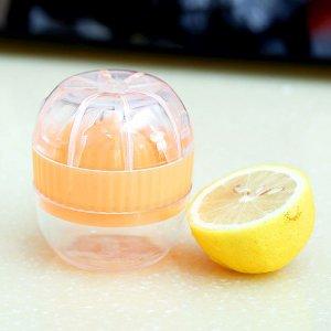 1шт ручная соковыжималка для фруктов SHEIN. Цвет: оранжевый