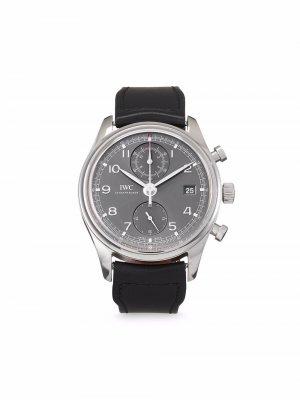 Наручные часы Portugieser Classic pre-owned 42 мм 2018-го года IWC Schaffhausen. Цвет: серебристый