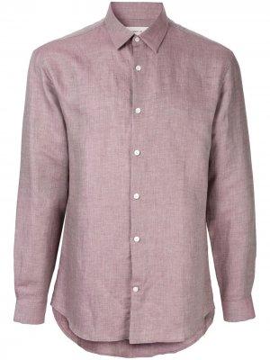 Фактурная рубашка Cerruti 1881. Цвет: фиолетовый