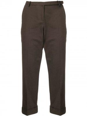 Укороченные брюки прямого кроя Antonio Marras. Цвет: зеленый