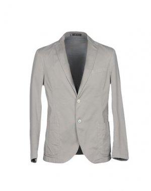 Пиджак LAB 001. Цвет: серый