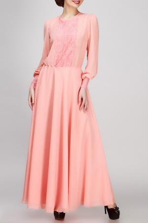 Платье FIFI LAKRES. Цвет: бордовый
