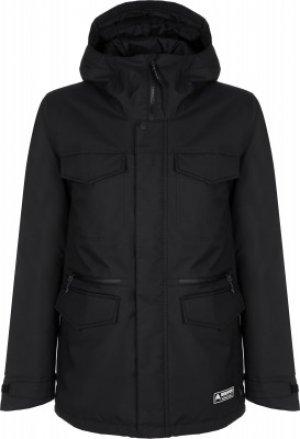 Куртка утепленная мужская Covert, размер 50-52 Burton. Цвет: черный