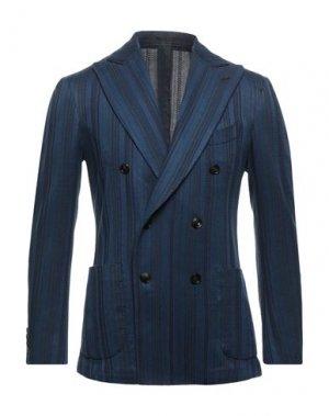 Пиджак GABRIELE PASINI. Цвет: синий