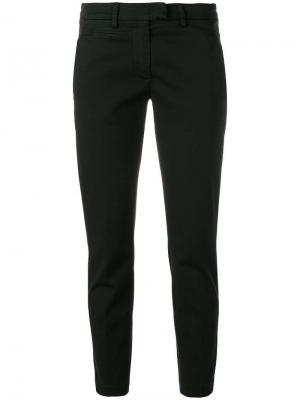Укороченные брюки-чинос Dondup. Цвет: черный