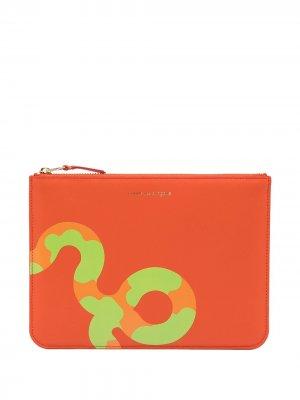 Чехол для планшета Ruby Eyes Comme Des Garçons Wallet. Цвет: оранжевый