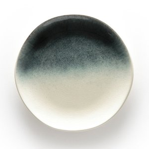 4 тарелки La Redoute. Цвет: синий