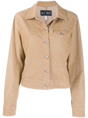 Джинсовая куртка 1990-х годов Giorgio Armani Pre-Owned. Цвет: нейтральные цвета