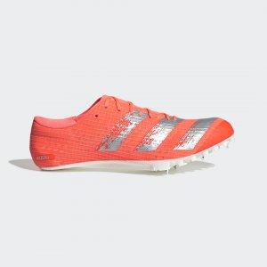 Шиповки для легкой атлетики Adizero Finesse Performance adidas. Цвет: белый
