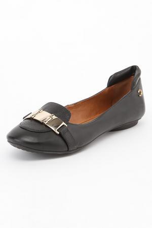 Туфли CRISTOFOLI. Цвет: черный